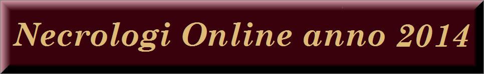 necrologi online anno 2014