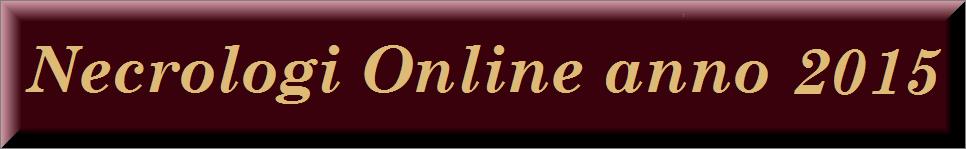 necrologi online anno 2015