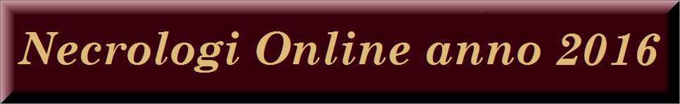 necrologi online anno 2016
