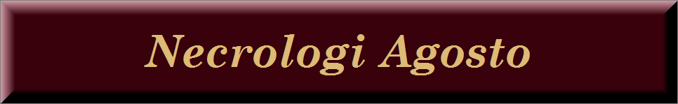 Necrologi agosto 2019 on line