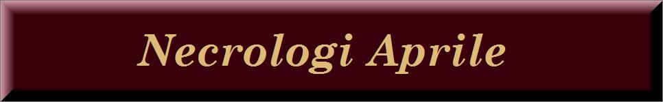 Necrologi aprile 2015 on line