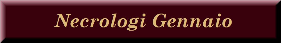 Necrologi gennaio 2014 on line