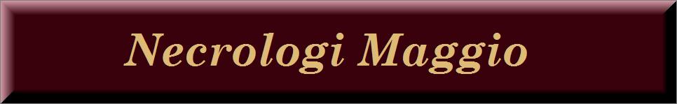Necrologi maggio 2020 on line