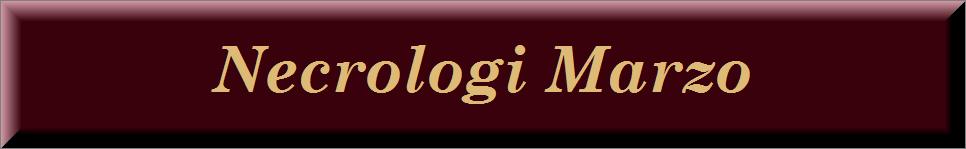 Necrologi marzo 2019 on line