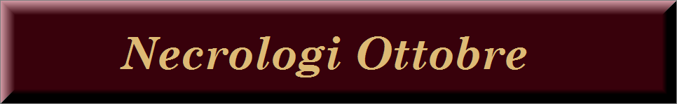 Necrologi ottobre 2020 on line